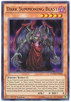 Dark Summoning Beast DUSA-EN030 Ultra Rare 1st NM Yugioh