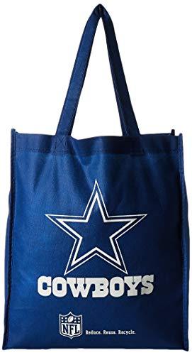 Dallas Cowboys Printed Non-Woven Polypropylene Reusable Grocery Tote Bag ()