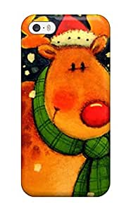 Iphone 5/5s Case Cover Skin : Premium High Quality Christmas Case