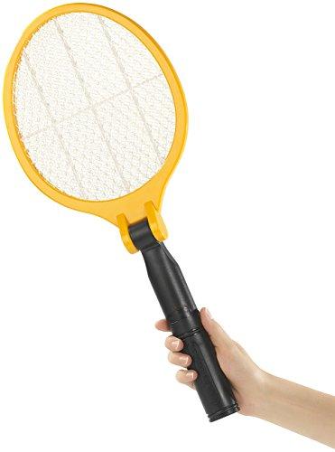 infactory Elektrische Fliegenklatsche mit klappbarem Griff