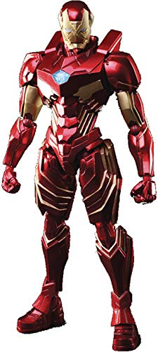 Square Enix Marvel Universe Iron Man Variant Bring Arts Action Figure, Multicolor