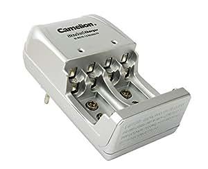 Camelion BC-904S - Cargador de pared para pilas AA / AAA / 9V