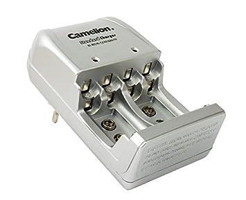 Camelion BC-904S - Cargador de pared para pilas AA/AAA / 9V