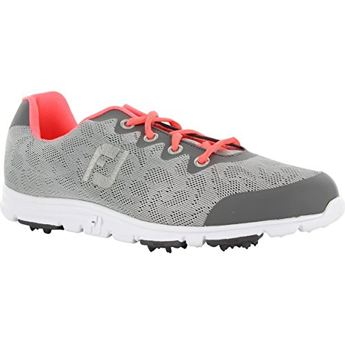 FootJoy Women's Enjoy Golf Shoes Grey Mist Size 6.5 M US