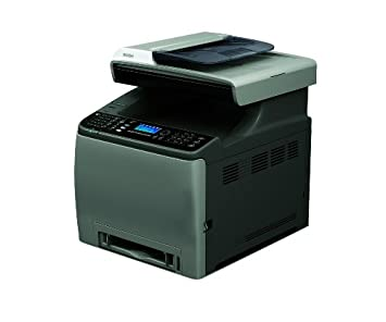 Ricoh SPC-240SF - Impresora láser multifunción (2400 x 600 dpi, 256 MB RAM), Negro