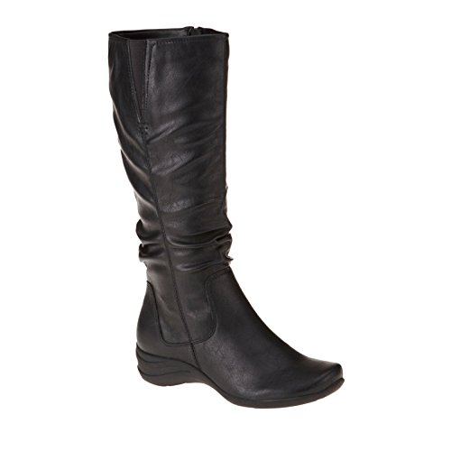 Hush Puppies Feline Alternative Wide Calf Tall Boots Primrose