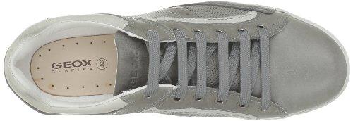 Geox U Sidney H, Sneaker Uomo Grigio (Gris (C1006))