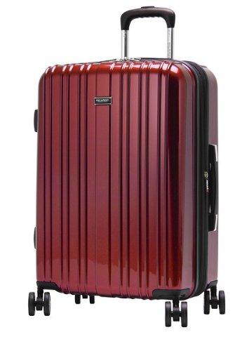 Ricardo Beverly Hills Luggage Sunset Boulevard 28-Inch 4-Wheel Expandable Upright, Wine Red, One Size