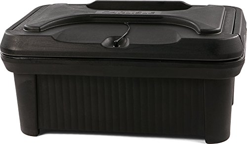 Carlisle XT160003 Cateraide Insulated Food Pan Carrier, Top Loading, 6'', Black by Carlisle
