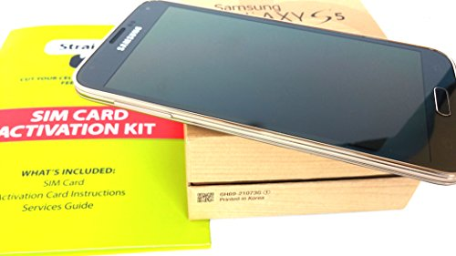 """Samsung Galaxy S5 """"Copper Gold"""" AT&T 4g lte runs on Straight Talk's $45 Unlimited Plan"""