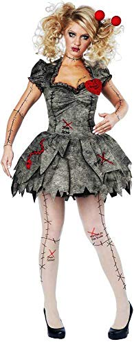 ESSA OAT clothes series Creepy Pins & Needles Voodoo Outfit Halloween Rag Doll Costume Adult Women