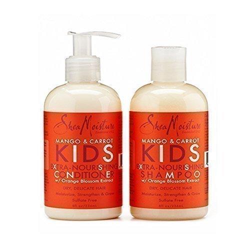 SheaMoisture - Mango & Karotten Kinder - Extra-nährendes Shampoo & Conditioner Shea Moisture