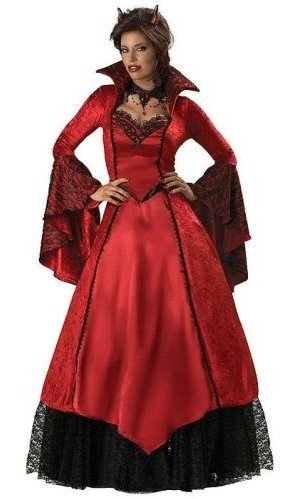 Devil's Temptress Costume - Small - Dress Size -