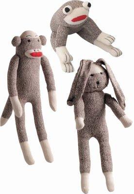 Multipet International Sock Pal Dog 1 Toy Assorted