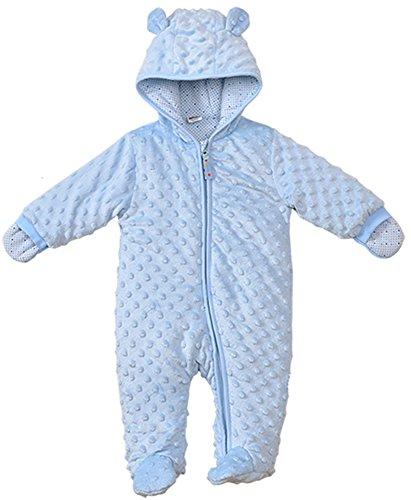 Baby Fleece Pram Suit - 3