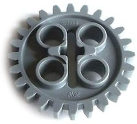 LEGO Technic CLEAR GEARBOX 2 x 4 x 3 1//3 wormbox gear reducer block part 6588