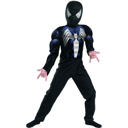 Black Suited Spiderman Muscle -Child
