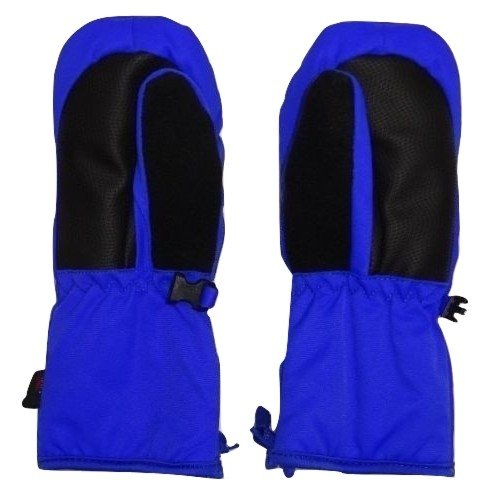 Child Size HEAD Ski Mittens Ages 5-6 , Black // Vibrant Blue Small