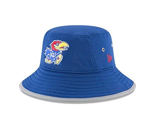 New Era NCAA Kansas Jayhawks Youth NE16 Training Bucket Hat, Child/Youth, Royal