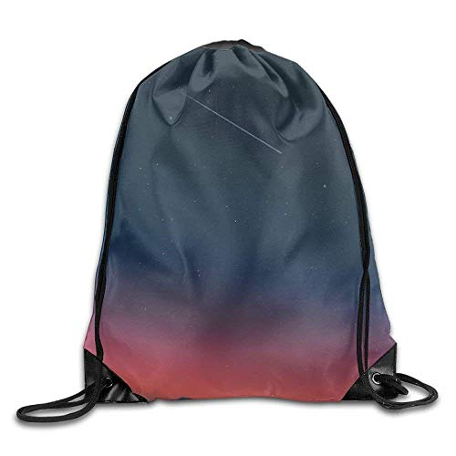 All agree Drawstring Backpack Gym Bag Travel Backpack, Sky, Cute Gym Backpack for Boys Girls from All agree