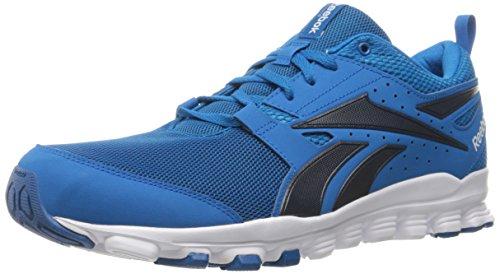 Reebok Men's Hexaffect Sport Running Shoe, Instinct Blue/Collegiate, 7.5 M US