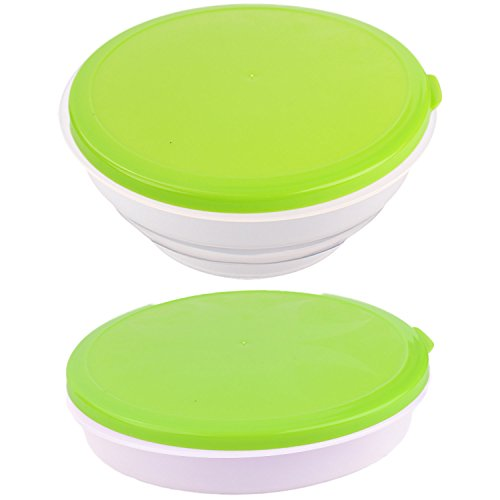 Collapsible Dog Bowl Lid Portable