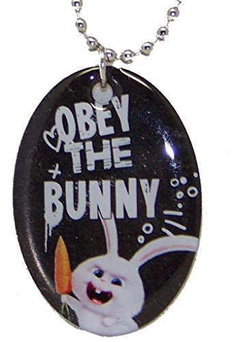 The Secret Life of Pets Snowball Obey the Bunny Dog Tag Style - Dog Tag Bunny