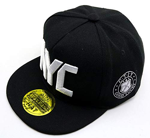 2019 NYC Kids Cap Gorra Beisbol Snap Back Hiphop Streetwear Casquette De Baseball Caps for Children Flat Hat at Amazon Womens Clothing store: