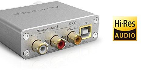 Optoma NuForce uDAC5 High-Resolution Mobile DAC
