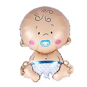 STOBOK Party Globos Baby Boy Forma Pantalla Hinchable Globos para ...