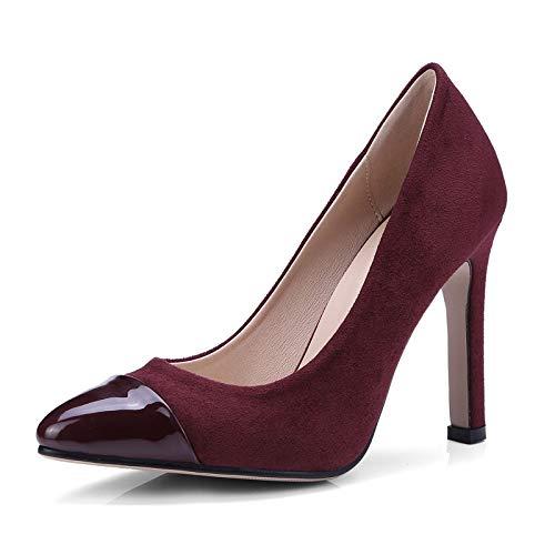 De Mujer Gran Tamaño Zapatos Zapatos Zapatos Aguja De De Zapatos tacón alto Yukun e01109