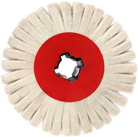 ACAMPTAR 120X100Mm Entgraten Schleifwolle RundbüRste Polieren Schleifen Polieren Streifen Scheibe