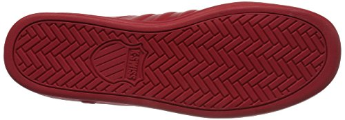 K-Swiss Men's Classic '88 II Fashion Sneaker, Red/Fiery Red, 12 M US