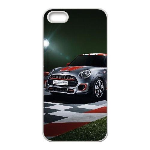 Y7R88 Mini G5N3HL coque iPhone 5 5s cellulaire cas de téléphone couvercle coque blanche WX3DQN7LU