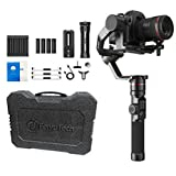 FeiyuTech Feiyu AK2000 DSLR Camera Gimbal 3-Axis Handheld Stabilizer with Tripod for Panasonic GH5 GH5S Sony A7 Canon 5D, 6lb