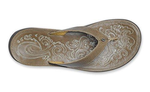 Pantofola Olukai Paniolo - Donna Argilla / Argilla