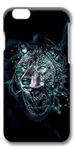 iPhone 6 Case, Custom Design Protective Covers for iPhone 6(4.7 inch) PC 3D Case - 3D Wolf