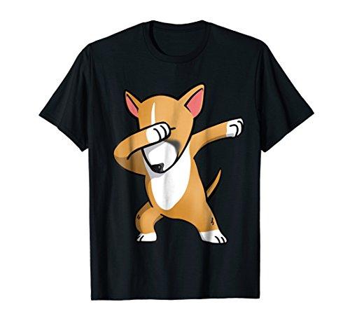 Dabbing Fawn English Bull Terrier Shirt Funny Dog Dab Gift
