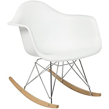 charles eames rocking chair dimensions replica canada best choice products style mid century modern molded plastic rocker shell arm singap