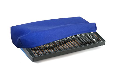 SOUNDCRAFT Si IMPACT / IMPACT 2 Audio Mixer Recording Studio Console Protective Dust Cover [Blue Nylon; Water Resistant; Antistatic; Premium Fabric] by DigitalDeckCovers
