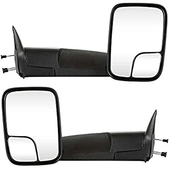 Prime Choice Auto Parts KAPCH1320258PR Manual Towing Pair Mirrors