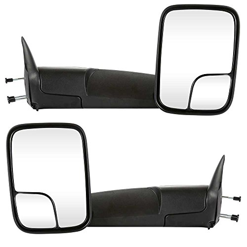 Dodge Ram Dealer Parts - Prime Choice Auto Parts KAPCH1320258PR Manual Towing Pair Mirrors