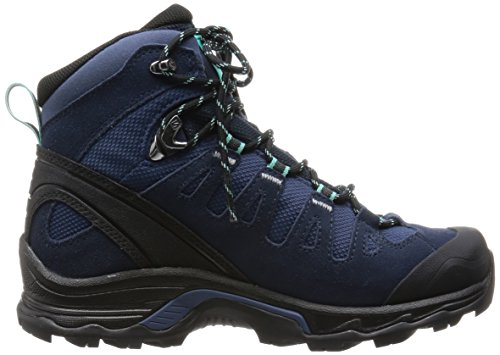 Salomon Women's Deep Black Rise M Blue US Hiking Blue GTX 5 6 Bubble Boots Blue Quest Prime Slateblue High rr1xdwgqW