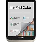 PocketBook InkPad Color – moon silver, E-Book Reader
