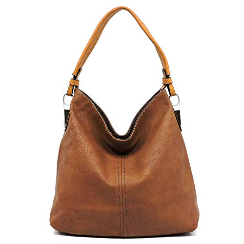 Janin Handbag Bucket Style Hobo Shoulder Bag with Extra Longer Strap