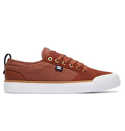 DC Shoes Men's Evan Smith S Skate Shoes Tobacco 9