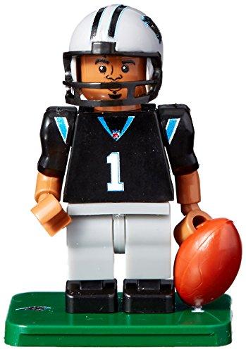 OYO NFL Carolina Panthers Gen4 Limited Edition Cam Newton Mini Figure, Small, White