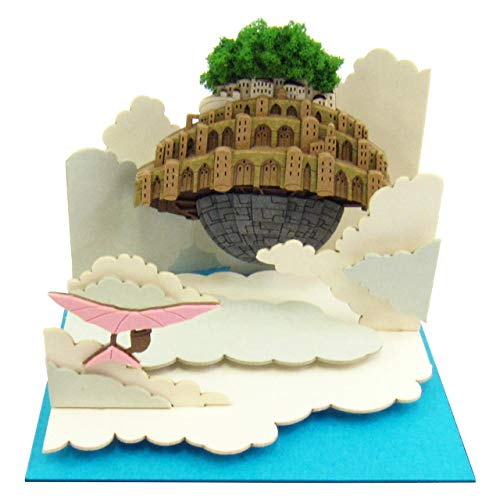 Floating in the Sankei Studio Ghibli mini sky Laputa-Castle in the sky scale papercraft MP07-20