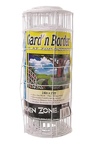 Jackson Wire 14X25 White Flower Fence 13015331 Review
