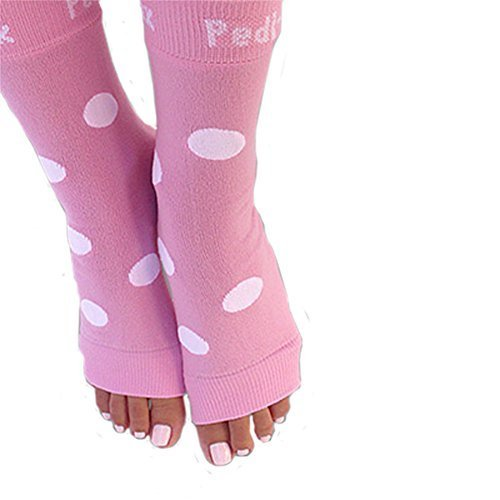 PEDI SOX Pink & White Polka Dot 1 pair